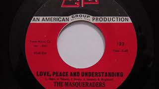 The Masqueraders- Love, Peace And Understanding