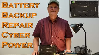 Battery Backup Repair CyberPower