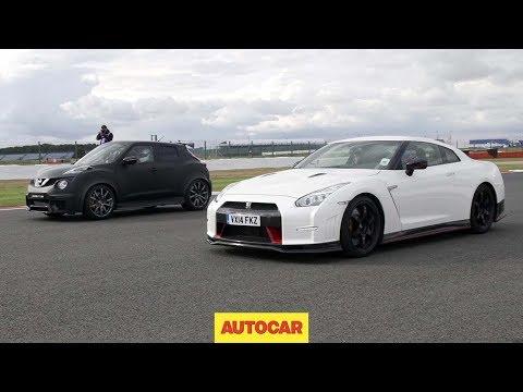 Nissan GT-R Nismo vs Nissan Juke-R 2.0 - Drag race