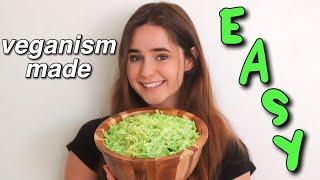 these 10 tips will make going vegan EASY