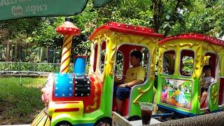 Bé Đi Xe Lửa ❤ Em Chơi Đu Quay ❤ Bé Đi Tàu Lượn ❤ Kids Toy Media