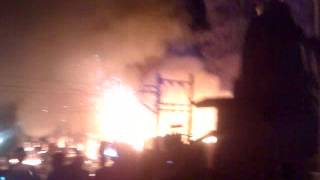 preview picture of video 'fire in valsad 12.11.12'