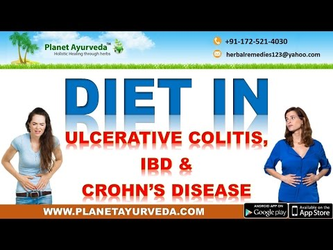 Video Diet in Ulcerative Colitis, Crohn's Disease & Inflammatory Bowel Disease