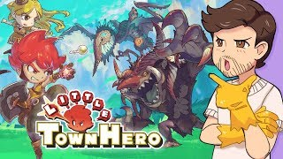 """Game Freak's half-baked """"IDEA"""" (Little Town Hero REVIEW) - Clemps"""