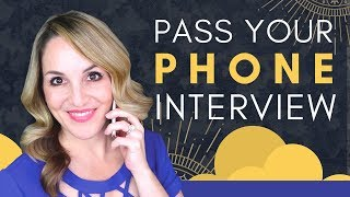 How To Do A Phone Interview Successfully - Phone Interview Tips 2018