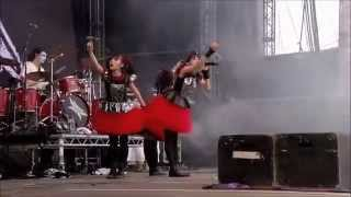 BABYMETAL - Gimme chocolate!! Live in Sonisphere Festival UK 2014