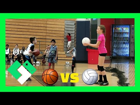🏀 BASKETBALL VS 🏐 VOLLEYBALL (Day 1785)