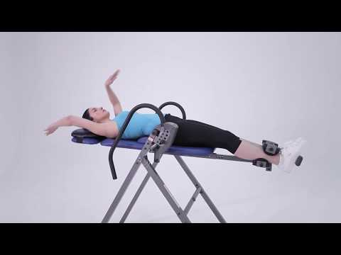 Using the Innova ITM4800 Inversion Table