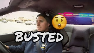 I got pulled over in my skyline GTR