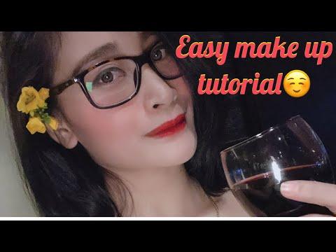 #easy make up tutorial#