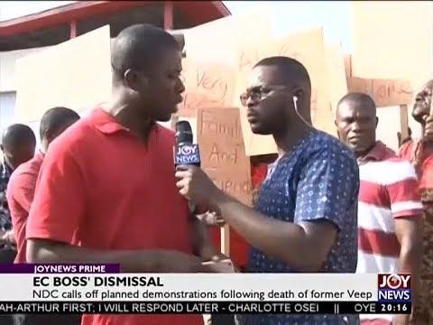 EC Boss' Dismissal – Joy News Prime (29-6-18)