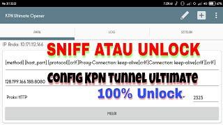 Sniff Config pada Aplikasi KPN Tunnel