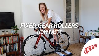 Fixed Gear Bike Rollers Challenge!