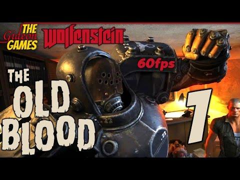Прохождение Wolfenstein: The Old Blood на Русском [PС|60fps] - Часть 1 (Любитель сосисок)