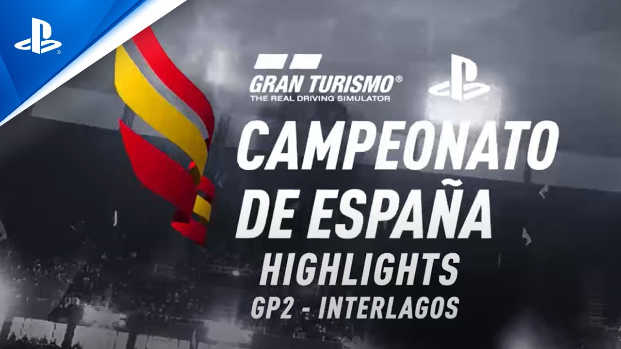 Coque López y Nico Romero se estrenan como vencedores en el Segundo Gran Premio del Campeonato de España de Gran Turismo