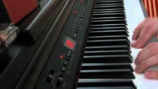 Kaksi puuta - piano cover