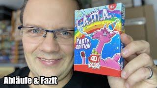 Lama - Party Edition - erfolgreiches Kartenspiel von Amigo findet seine Fortsetzung - ab 8 Jahren