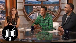 Scottie Pippen gives Tracy McGrady hard time about Tim Duncan and Grant Hill | The Jump | ESPN - Video Youtube