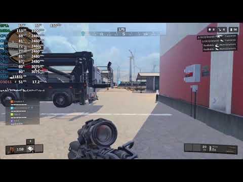 Call of Duty: Black Ops 4 - Ryzen 5 2500U Vega 8 - Gameplay