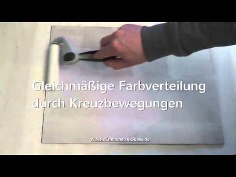 Acrylmalerei Grundierung von Holzuntergründen