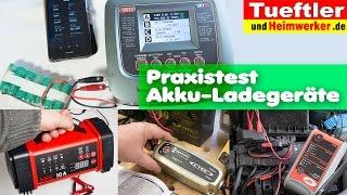 Gute Autobatterie-Ladegeräte und vielseitiges Modellbauladegerät Q200