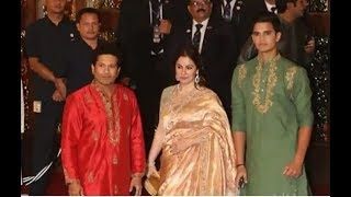 Isha Ambani wedding: Sachin, Bhajji, Karan Johar arrive at 'Antilla'
