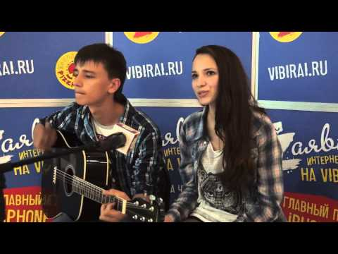 Иван Леушин и Саша Алехина, 16 лет