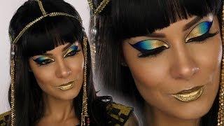 Cleopatra Egyptian Goddess Halloween MakeUp Tutorial | Shonagh Scott | ShowMe MakeUp