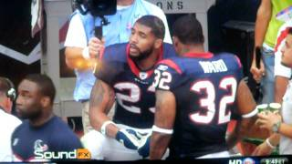 Arian Foster does the