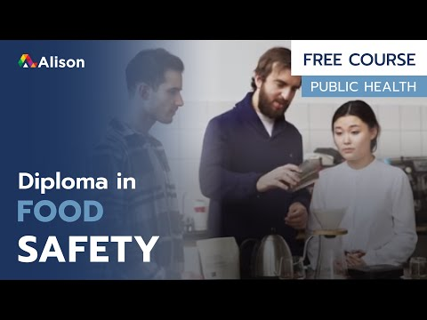 Diploma in Food Safety- Free Online Course with Certificate ...