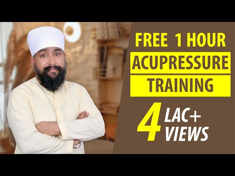 Acupressure Training   Acupressure Points and Course - YouTube
