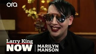 Marilyn Manson on Alice Cooper, Blame for School Shootings & Kanye West vs Jay-Z [Full Interview]
