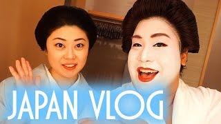 I AM A GEISHA | JAPAN VLOG | PatrickStarrr