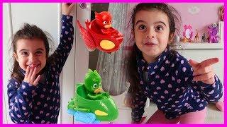 Pijamaskelileri Oyuncaklarımızı Kaybettik, Kendi Evimizde Rüya'nın Odasından Çıktı l Çocuk Videosu