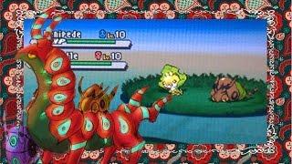 Venipede  - (Pokémon) - LIVE!!!{+Evolutions} Shiny Venipede in White2 after 7317 REs