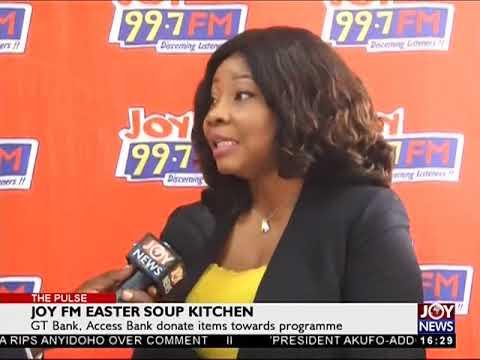 Joy FM Easter Soup Kitchen - The Pulse on JoyNews (28-3-18)