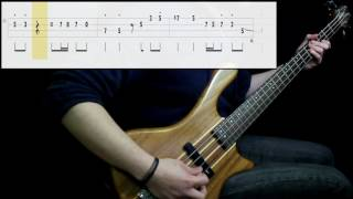 J. Ralph - Kansas City Shuffle (Bass Cover) (Play Along Tabs In Video)