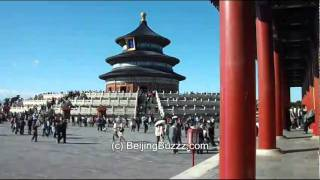 Video : China : Temple of Heaven 天坛 timelapse films, BeiJing