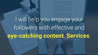 15025I will give your brand a boost by creating social media content