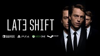 "WE'RE TEAMING UP WITH SWISS STUDIO, CTRL MOVIE, TO BRING THE FMV CRIME THRILLER ""LATE SHIFT"