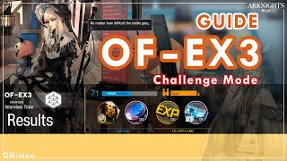Silence  - (Arknights) - [ Arknights ] Guide ( ไกด์ด่าน ) OF-EX3 : Challenge Mode / Silence Skill2 Medical Drone