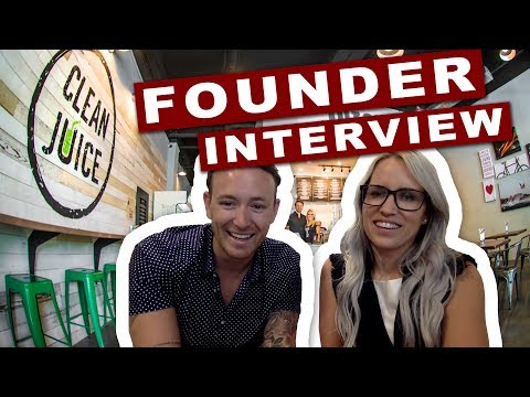 Fastest Growing Organic Juice Bar - Interview with the Founders of Clean Juice