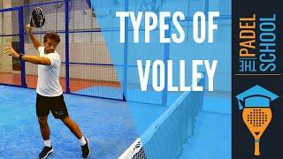 Olika typer av volleys