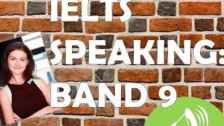 IELTS Speaking: пример хорошего ответа (на Band 9)