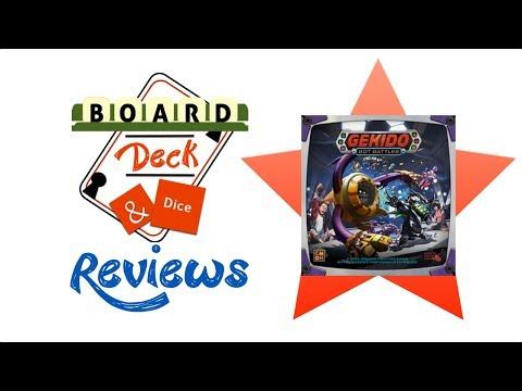 Board, Deck & Dice Review #107 - Gekido: Bot Battles