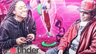 I PLAYED NBA 2K19 WITH MY TINDER DATE...