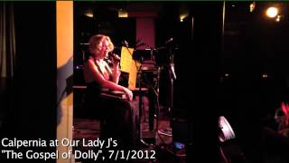 "Calpernia Performs Dolly Parton's ""Hello God"" Live for Our Lady J's Gospel of Dolly"
