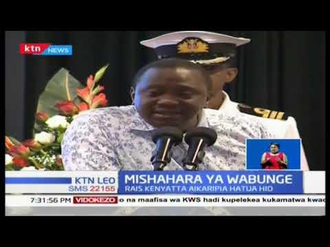Mishahara ya Wabunge: Rais Uhuru Kenyatta amekashifu hayo mapendekezo hayo, asema ni ubinafsi