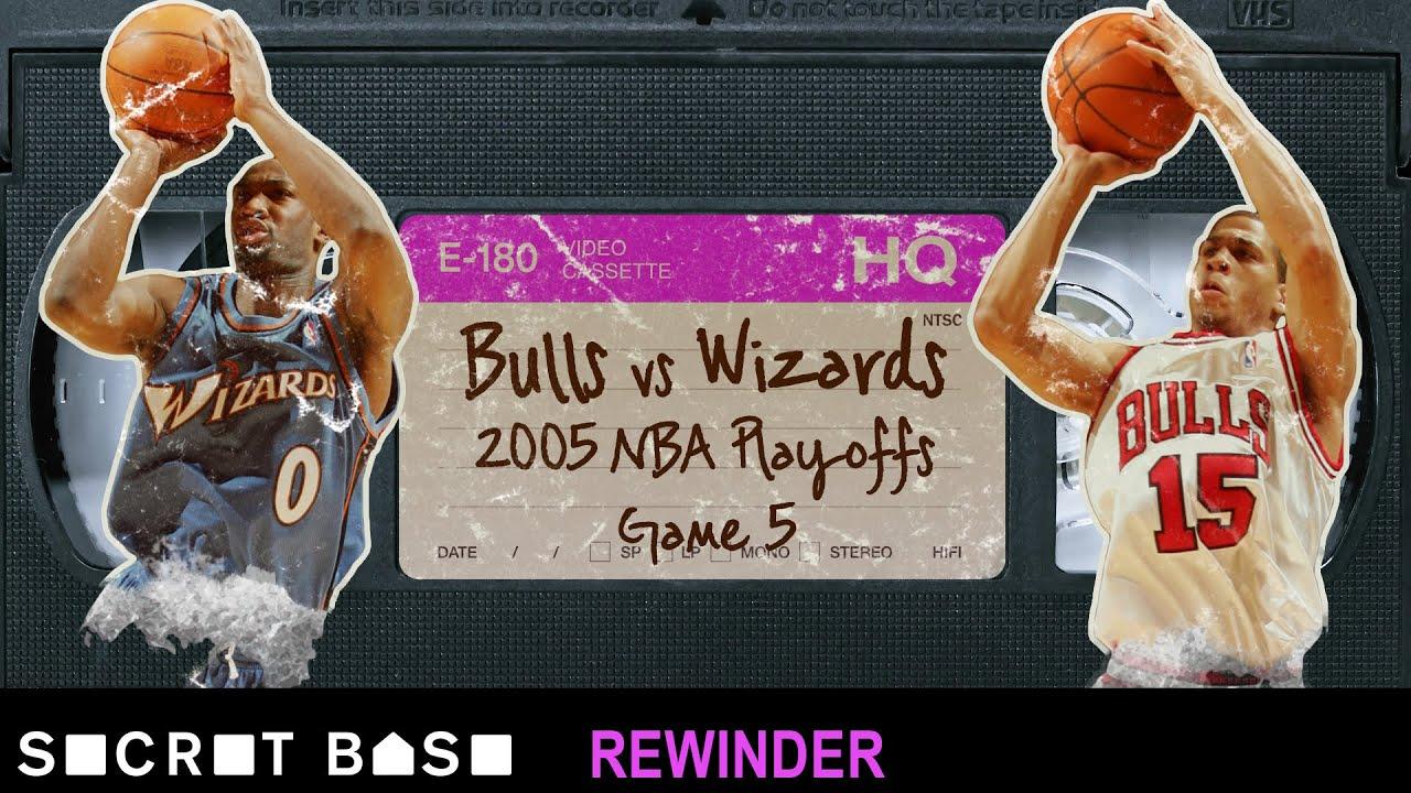 Gilbert Arenas' critical shot in the 2005 NBA Playoffs needs a deep rewind   Wizards vs. Bulls thumbnail