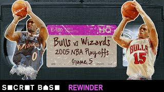 Gilbert Arenas' critical shot in the 2005 NBA Playoffs needs a deep rewind | Wizards vs. Bulls thumbnail